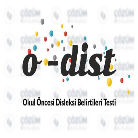 O-Dist Okul Öncesi Disleksi Belirtileri Testi